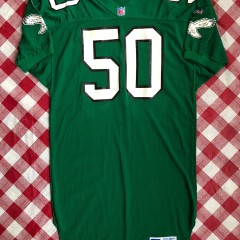 Vintage 90s Philadelphia eagles pro cut team issued authentic Russell NFL jersey size 48 XL
