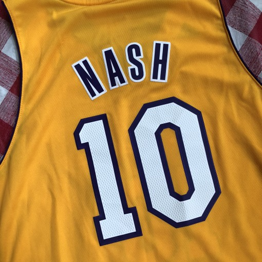 2012 Steve Nash Los Angeles Lakers Adidas Swingman NBA Jersey Size XL