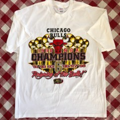 1998 Chicago Bulls 6 Time NBA Champions T Shirt Size XL