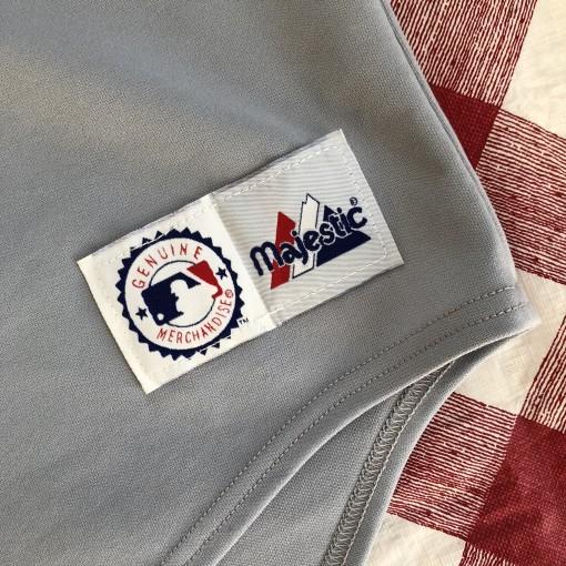 2002 Pokey Reese Pittsburgh Pirates Majestic MLB Jersey Size Large