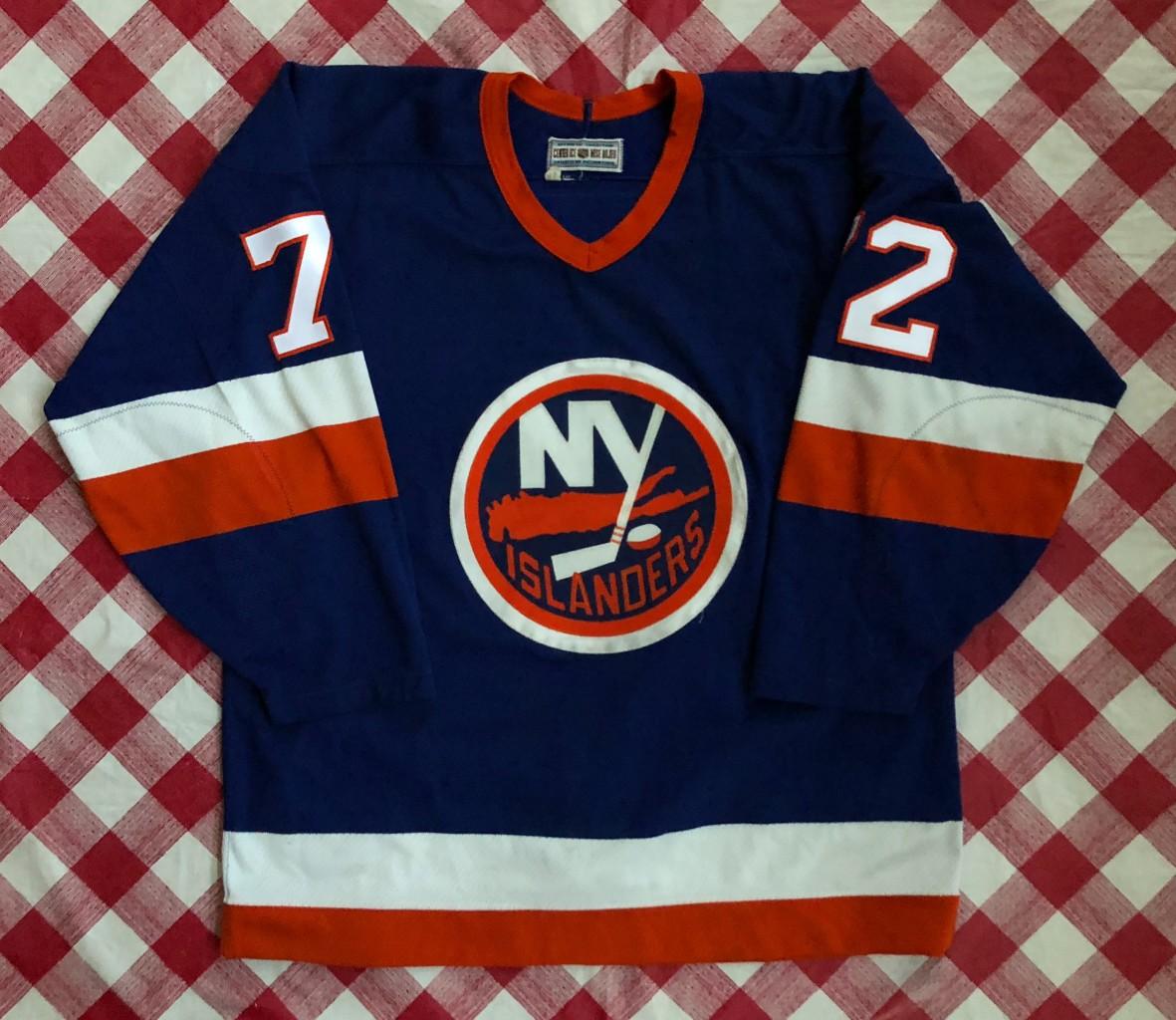info for f150d 60bda 1993 Ron Hextall New York Islanders CCM NHL Jersey Size 48