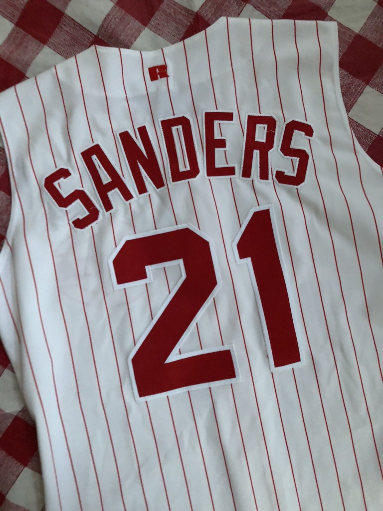 more photos 16b70 fb471 90's Deion Sanders Cincinnati Reds Authentic Russell MLB Jersey Size 44