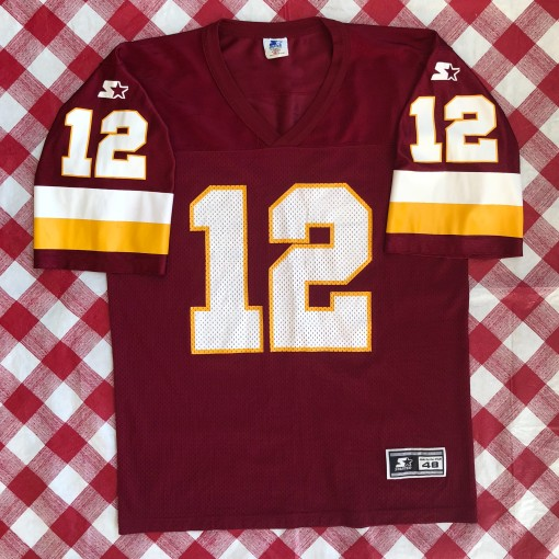 1995 Gus Frerotte Washington Redskins Starter NFL Jersey Size Large