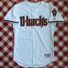 2008 Randy Johnson Arizona Diamondbacks Majestic Authentic MLB Jersey Size 44