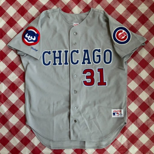 1990 Greg Maddux Cubs Authentic Rawlings MLB Jersey Size 48