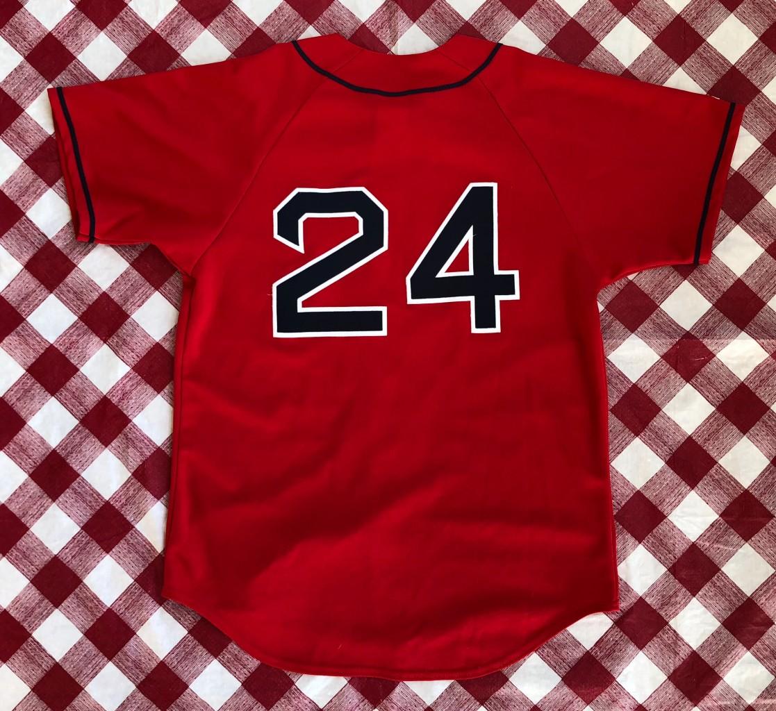 cfa5e03f169 2003 Manny Ramirez Boston Red Sox Majestic Alternate MLB Jersey Size Medium