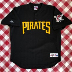 90's Pittsburgh Pirates Authentic Majestic MLB BP Jersey Size XL