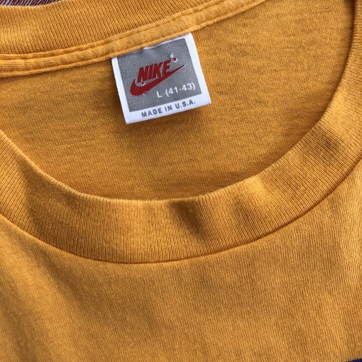 90's Nike Air T Shirt Tangerine Size Large