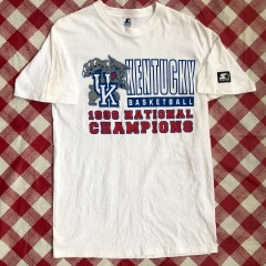 1996 Kentucky Wildcats National Champions Starter NCAA T Shirt