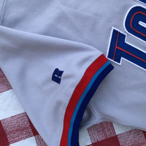 1997 Roger Clemens Toronto Blue Jays Authentic Russell MLB Jersey Size 44