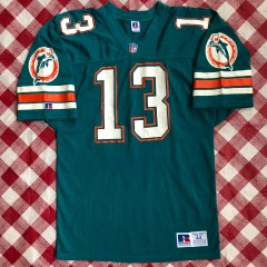 1992 Dan Marino Miami Dolphins Authentic Russell NFL Jersey Size 44