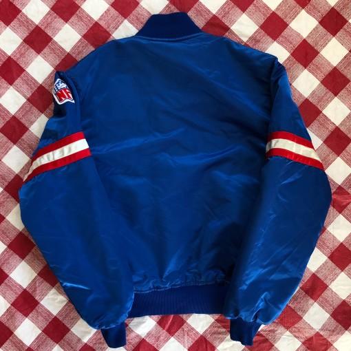 90's New York Giants Satin Starter NFL Jacket Size Medium