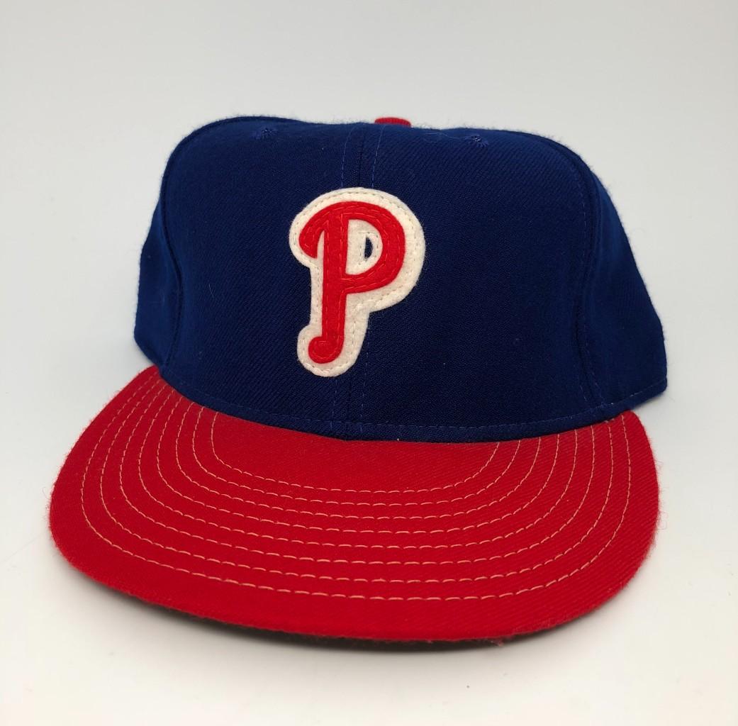 d59f6100e410c 1946-49 Philadelphia Phillies ANNCO MLB Retro Fitted Hat Size 7 3 8 ...