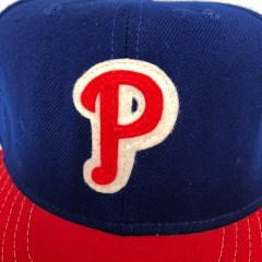1946-49 Philadelphia Phillies ANNCO MLB Retro Fitted Hat Size 7 3/8