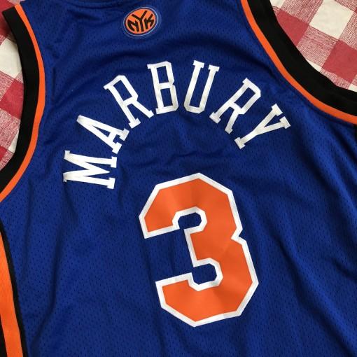 2004 Stephon Marbury New York Knicks Reebok Swingman NBA Jersey Size XL