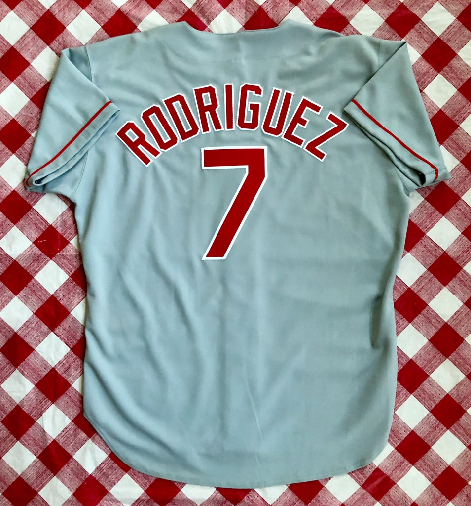 sale retailer ad490 d242c 1994 Ivan Pudge Rodriguez Texas Rangers Authentic Russell MLB Jersey Size 48
