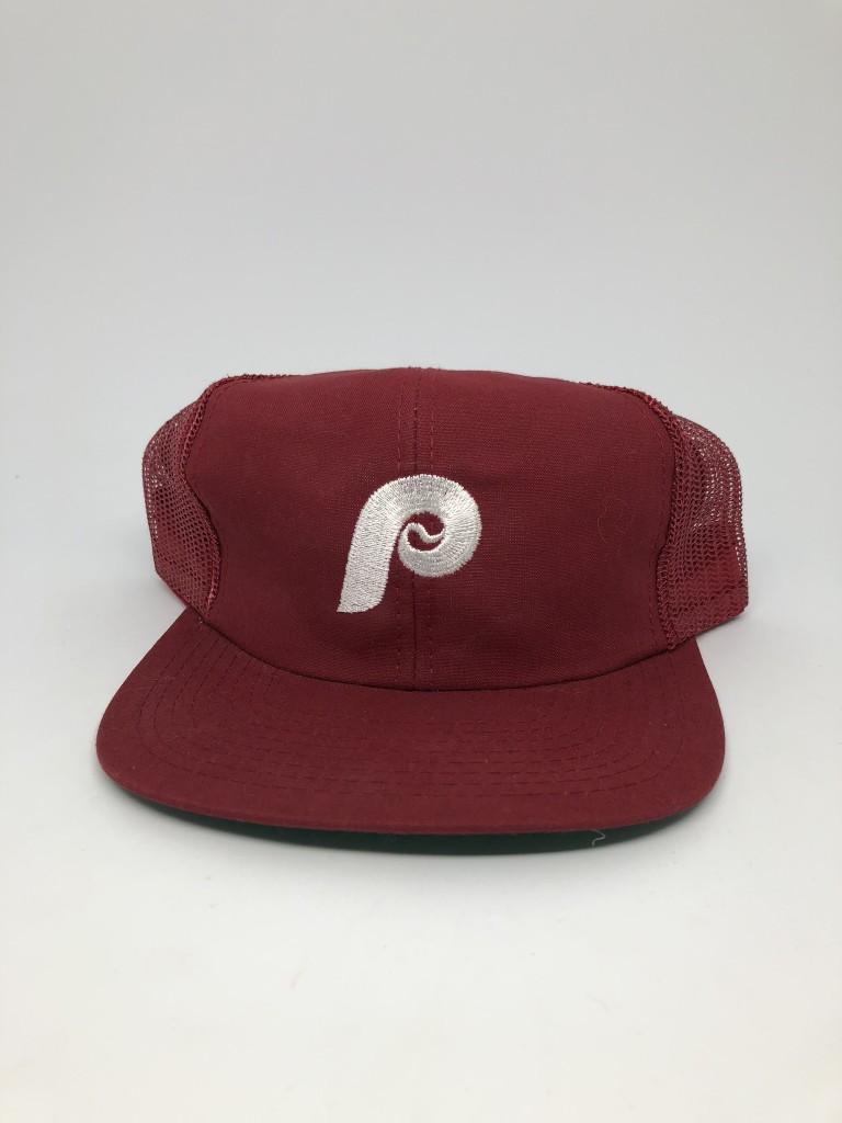 30c9863067b51 80 s Philadelphia Phillies MLB Mesh Snapback Hat
