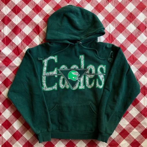 90's Philadelphia Eagles Pro Ace NFL Sweatshirt Size Large