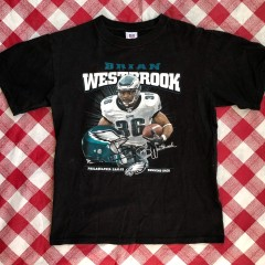 2004 Brian Westbrook Philadelphia Eagles NFL T Shirt Size Medium