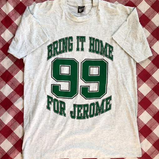 1992 Bring It Home For Jerome Philadelphia Eagles NFL T Shirt