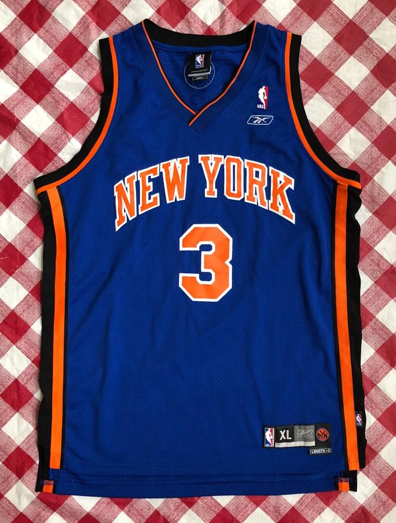 86e1c722dff6 2004 Stephon Marbury New York Knicks Reebok Swingman NBA Jersey Size ...