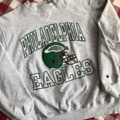 1993 Philadelphia Eagles Champion NFL Crewneck Sweatshirt