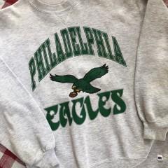 90's Philadelphia Eagles Russell NFL Crewneck Sweatshirt Size Large