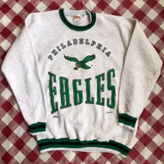 1993 Philadelphia Eagles Nutmeg Mills NFL Crewneck Sweatshirt Size Large