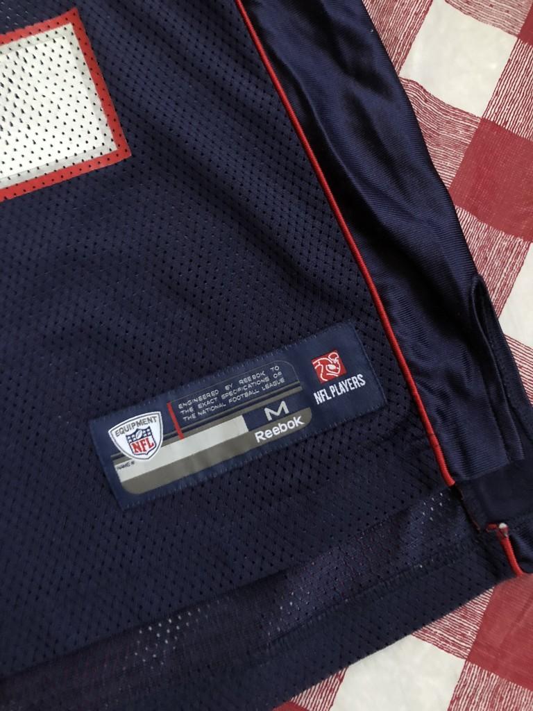 5595c581f0b 2004 Tom Brady New England Patriots Reebok Super Bowl XXXVIII NFL Jersey  Size Medium