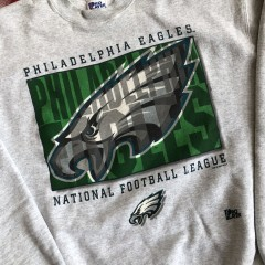 1996 Philadelphia Eagles Pro Player NFL Crewneck Sweatshirt Size XL