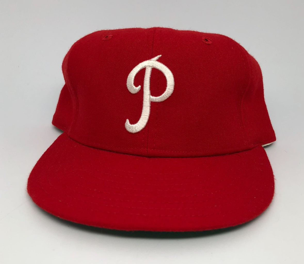 finest selection 59762 29bde 1950-69 Philadelphia Phillies New Era MLB Retro Fitted Hat Size 7 1 8   Rare  Vntg