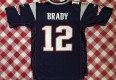 2004 Tom Brady New England Patriots Reebok Super Bowl XXXVIII NFL Jersey Size Medium