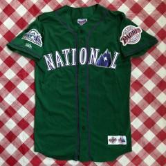1998 Tony Gwynn National League Authentic Majestic MLB All Star Jersey Size Medium