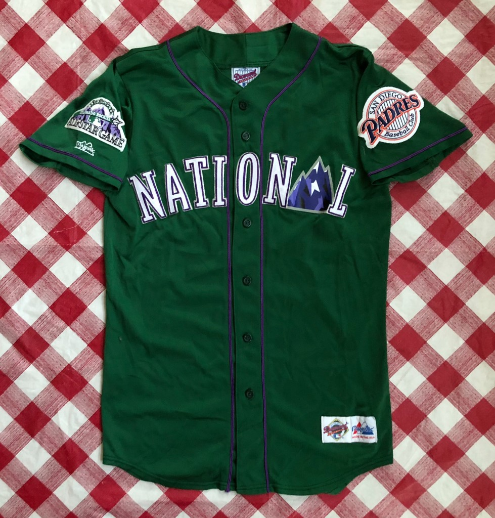 new concept bc036 aca17 1998 Tony Gwynn National League Authentic Majestic MLB All Star Jersey Size  Medium