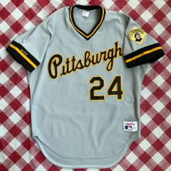 1988 Barry Bonds Pittsburgh Pirates Authentic Rawlings MLB Jersey Size 46