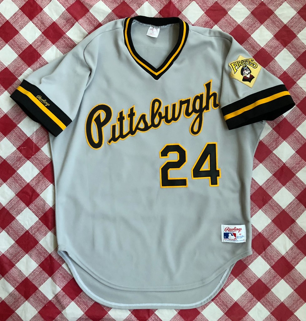 reputable site 04215 8c078 1988 Barry Bonds Pittsburgh Pirates Authentic Rawlings MLB Jersey Size 46