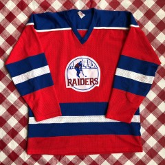 1972-73 New York Raiders Pro Joy WHA Hockey Jersey Size XL