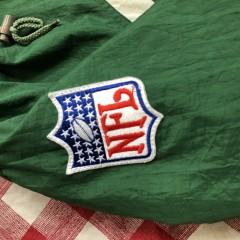 90's Philadelphia Eagles Apex One NFL Pullover Jacket Size Medium