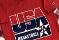 1992 Team USA Olympic Basketball Champion T Shirt Red Size Large
