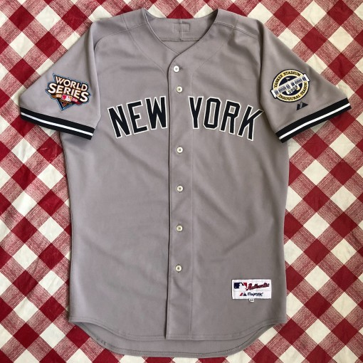 2009 Alex Rodriguez New York Yankees World Series Majestic Authentic MLB Jersey Size 44