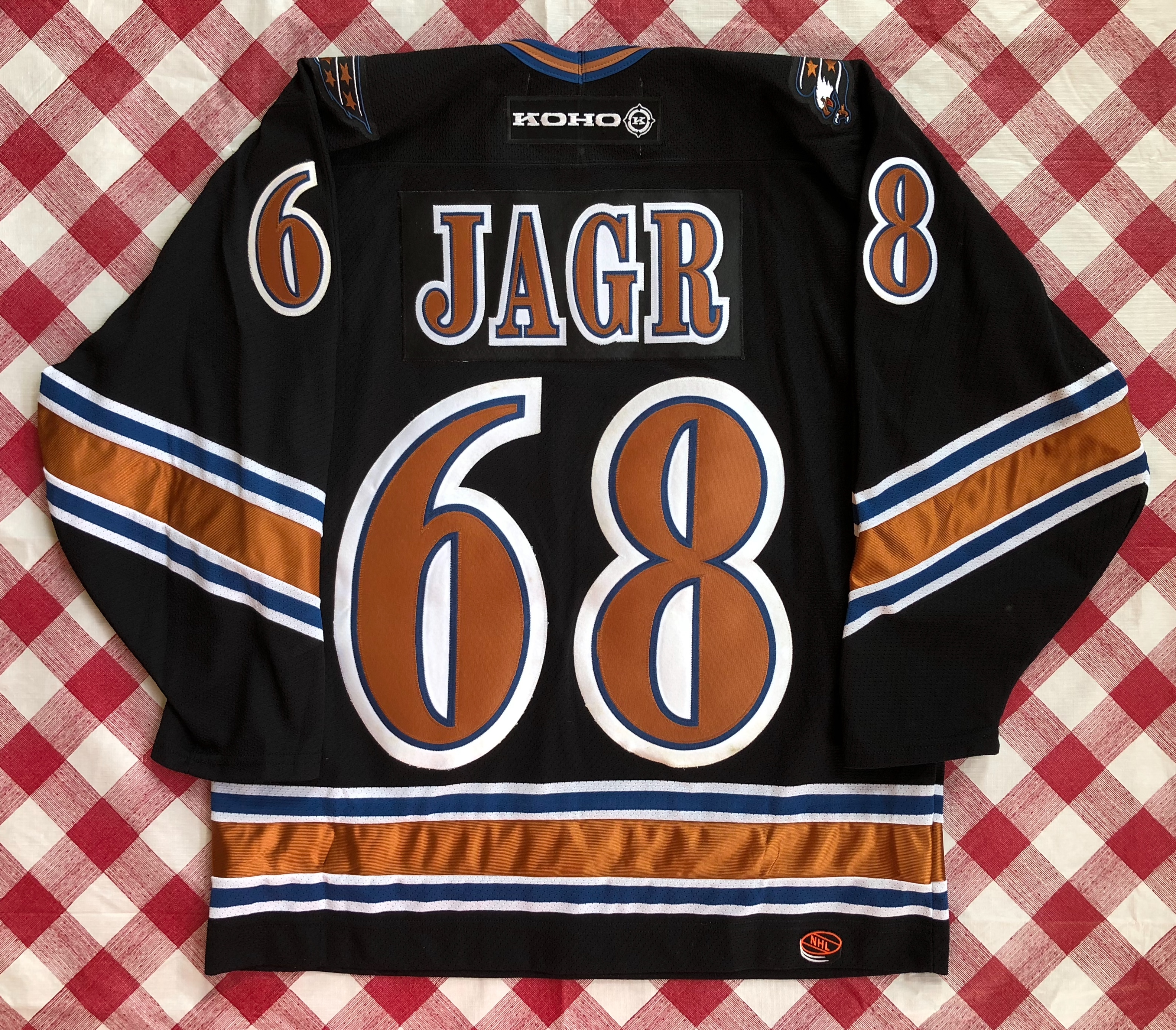 206eca5ce51 2001 Jaromir Jagr Washington Capitals Koho NHL Jersey Size Large ...
