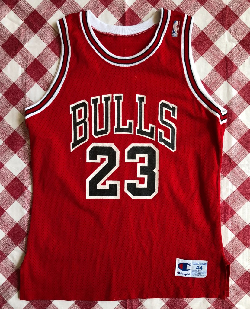 60706b9d2 1991 Michael Jordan Chicago Bulls Authentic Champion NBA Jersey Size 44