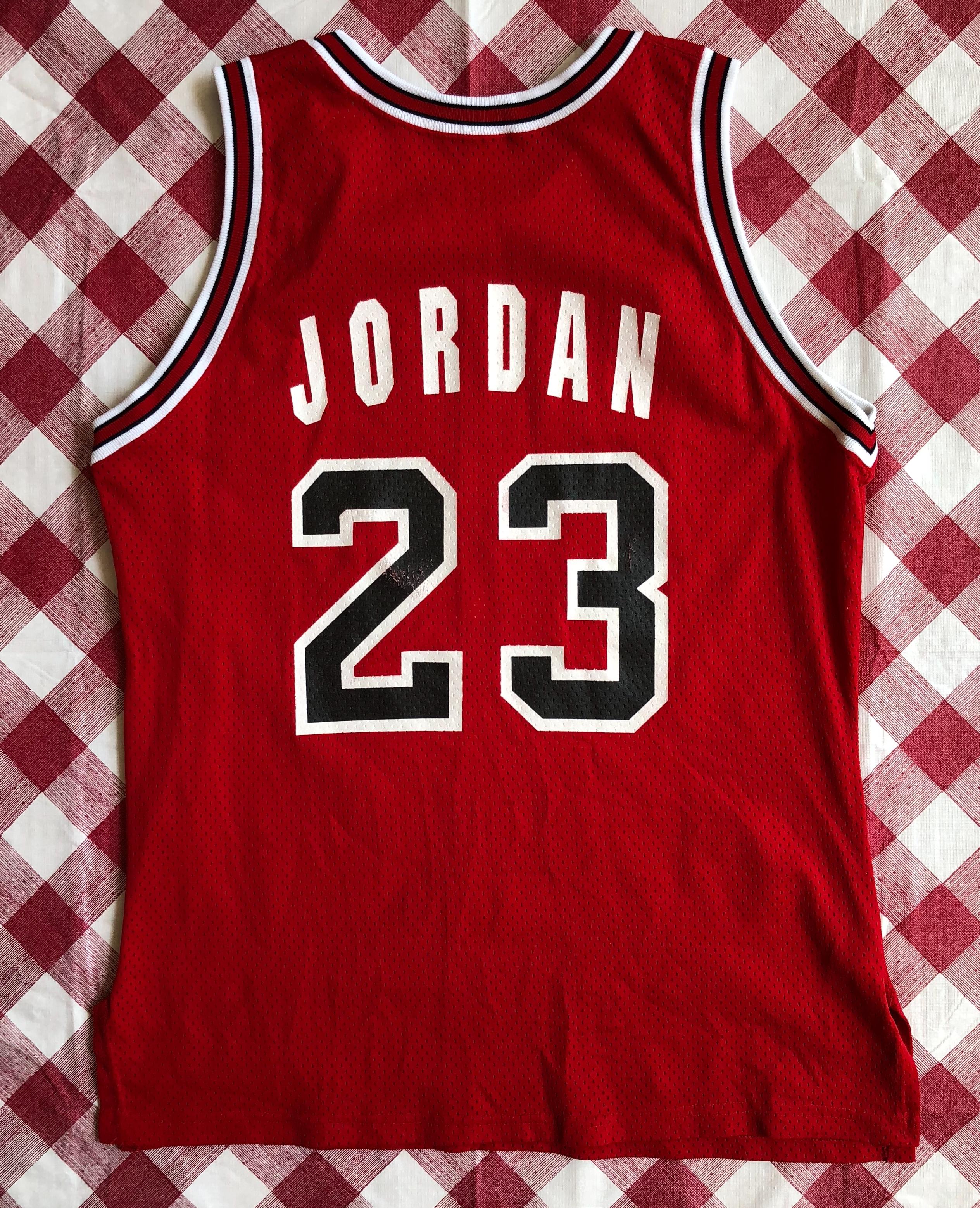 brand new 4915b 5f239 1991 Michael Jordan Chicago Bulls Authentic Champion NBA Jersey Size 44