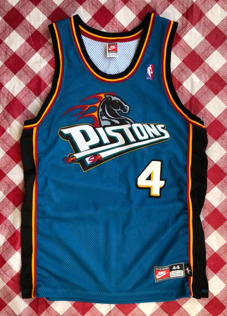check out 0a8bf 43e0d 1998 Joe Dumars Detroit Pistons Nike Authentic NBA Jersey Size 44