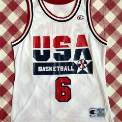 1992 Patrick Ewing Team USA Dream Team Champion Jersey Size 40