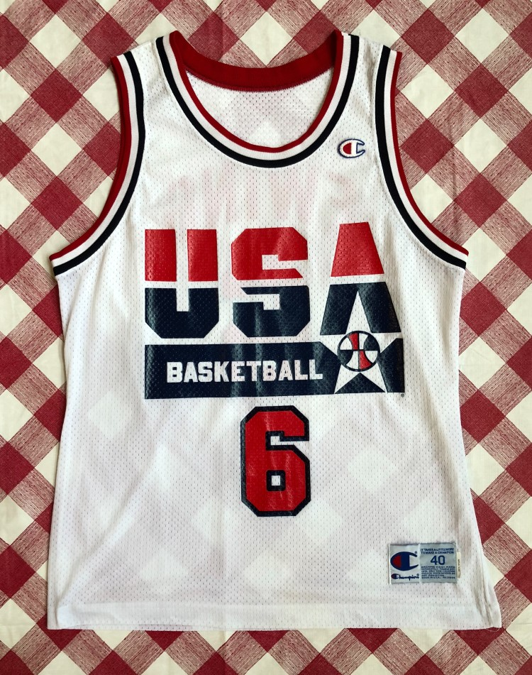 best service 80182 9295a 1992 Patrick Ewing Team USA Dream Team Champion Jersey Size 40