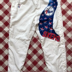 1991 Philadelphia Sixers 76ers Champion NBA Warm Up Pants Size XXL