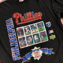 1994 Philadelphia Phillies Upper Deck MLB T Shirt Size XL