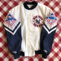 1989 New York Yankees Chalkline Fanimation MLB Jacket Size Large