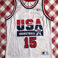 1992 Magic Johnson Team USA Dream Team Champion Jersey Size 44
